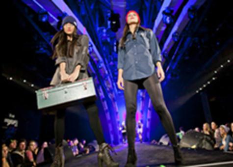 image Passerelle réinventée pour le 7e Fashion Jam